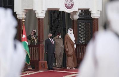 الملك عبد الله: يجب العمل لتحقيق السلام العادل والشامل وفق حل الدولتين