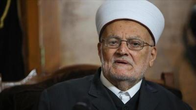 سلطات الاحتلال تقرر إبعاد الشيخ عكرمة صبري عن المسجد الأقصى