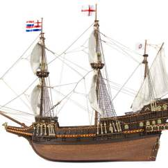 Diagram Of A Caravel Ship Bmw Radio Wiring Occre Golden Hind 1:85 Scale Model Kit