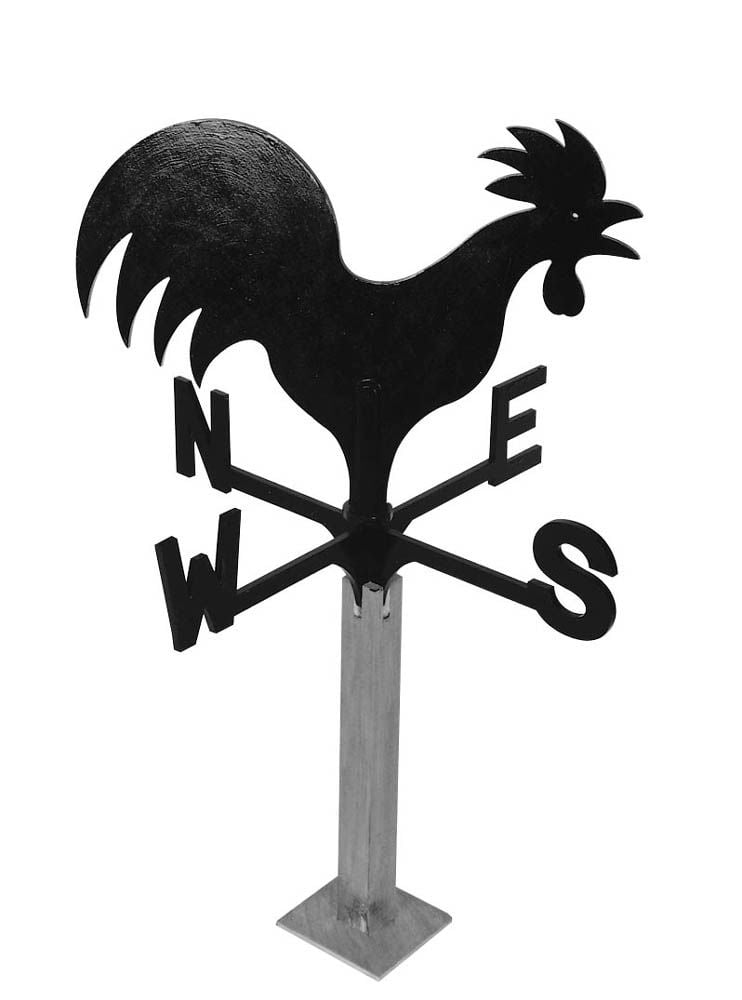 cockerel wind vane plans