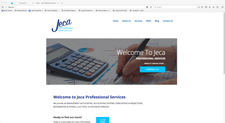 Jeca website designed by alwaysinspired