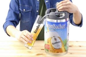 クロンバッハー5リットル樽生ビール