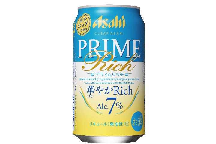 アサヒビール「クリアアサヒ プライムリッチ-華やかリッチ-」