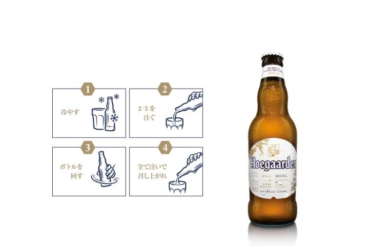 ベルギービール「ヒューガルデン」