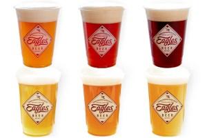 球団オリジナルクラフトビール「EAGLES BEER(イーグルスビール)」