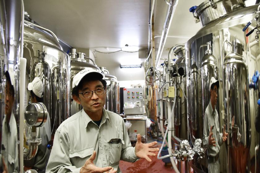 ビール醸造家・丹羽智さん@アウトサイダーブルーイング