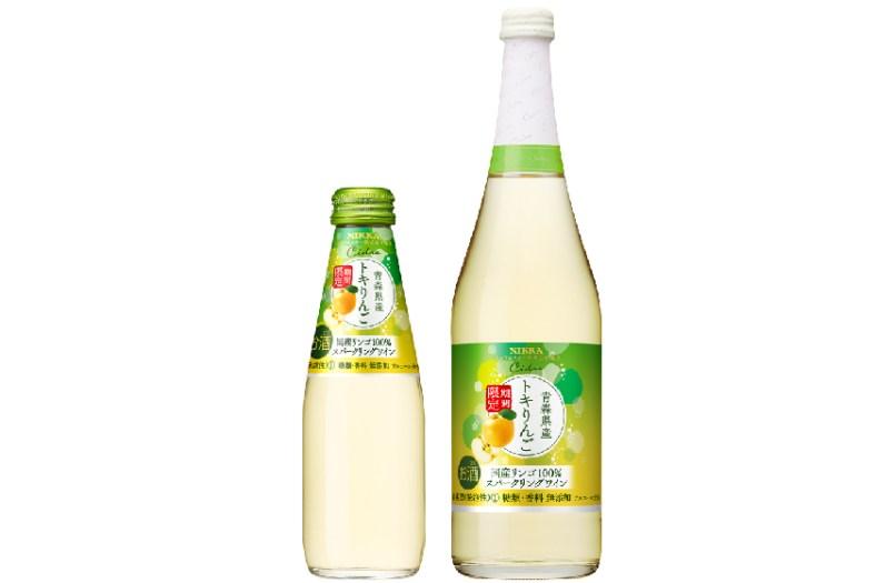 アサヒビール「ニッカシードル トキりんご」