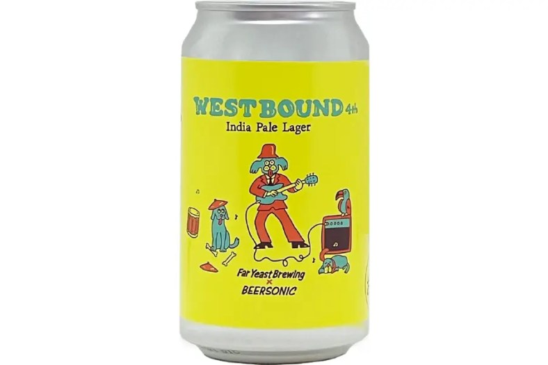 Far Yeast Brewing「Far Yeast WESTBOUND 4th India Pale Lager」
