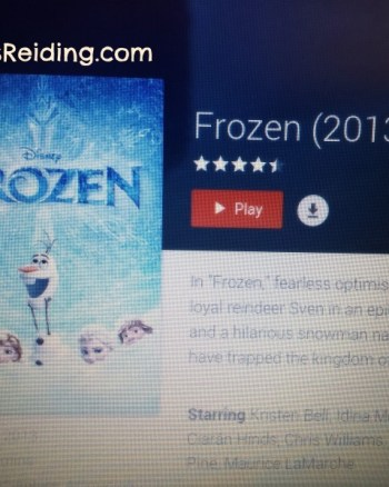Taking the Icy Plunge: A Review of Frozen
