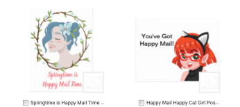 Happy Mail by Always Reiding
