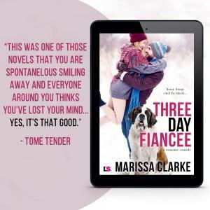 ::On Sale:: Three Day Fiancee by Marissa Clarke