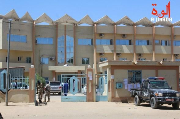 El Palacio de Justicia de N'Djamena.  © Alwihda Info