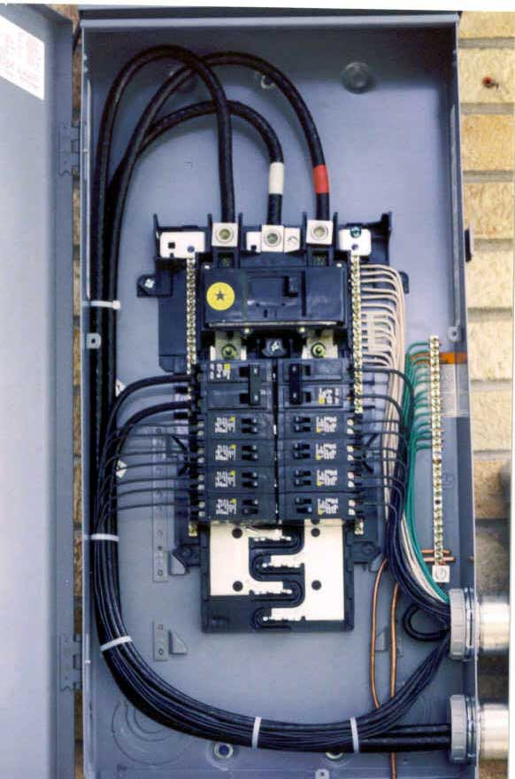 Amp Outside Breaker Box Diagram Best Collection Electrical Wiring