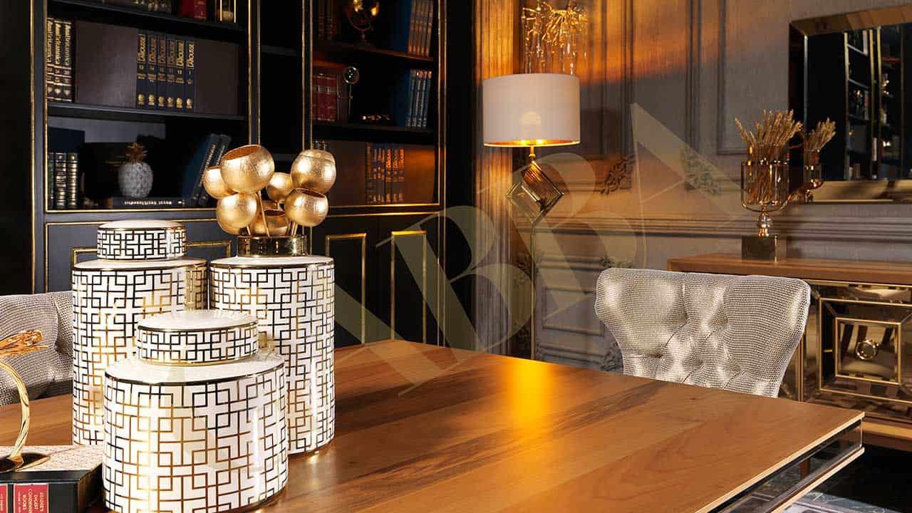 canape versace gold salle a manger