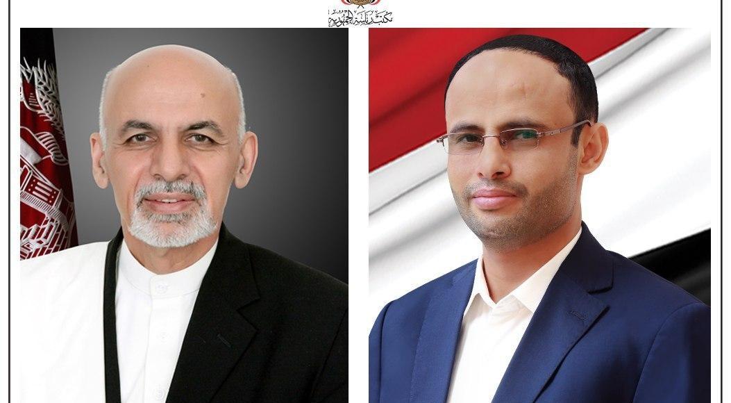 برقية تهنئة.. الرئيس المشاط يهنئ رئيس جمهورية أفغانستان بيوم الاستقلال