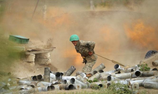 حرب أرمينيا وأذربيجان.. أذربيجان تتهم أرمينيا بقصف مدينة كنجة ويريفان تنفي