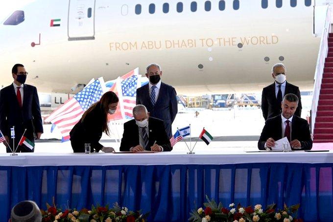 اتفاق الإمارات وإسرائيل وأمريكا