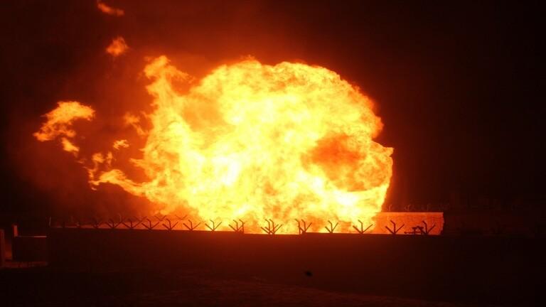 تفجير أنابيب الغاز بين مصر وإسرائيل وداعش يتبنى