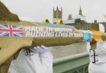 وقف بيع الأسلحة البريطانية للسعودية والإمارات