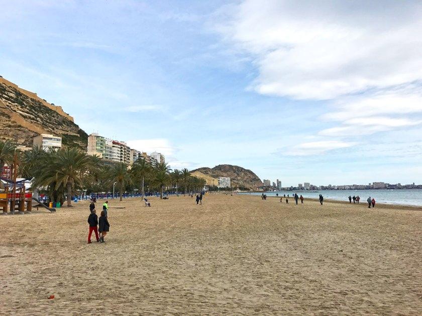 Beach in Alicante Spain