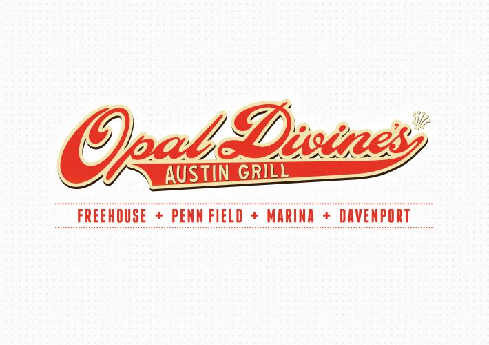Austin Logo Design Opal Divine 39 S Austin Grill Alyson