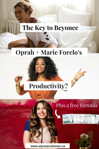 The key to Beyonce, Oprah & Marie Forleo's Productivity. The queens talk self care, self love & growing their empires