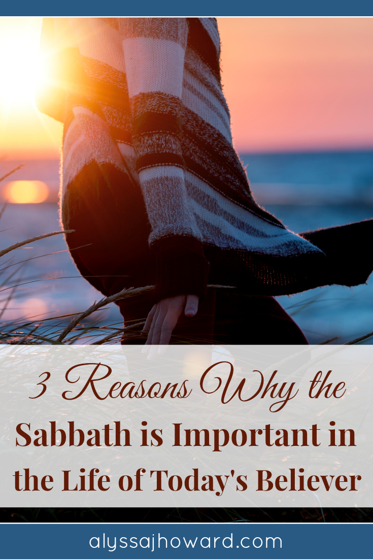 The Sabbath is such an essential part of the Bible. And it is still important today because it is all about Jesus, our source of perfect rest and peace.