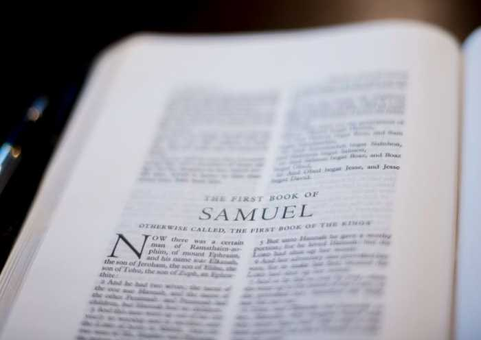 Samuel and the Call of God: Paving the Way to the Messiah | alyssajhoward.com