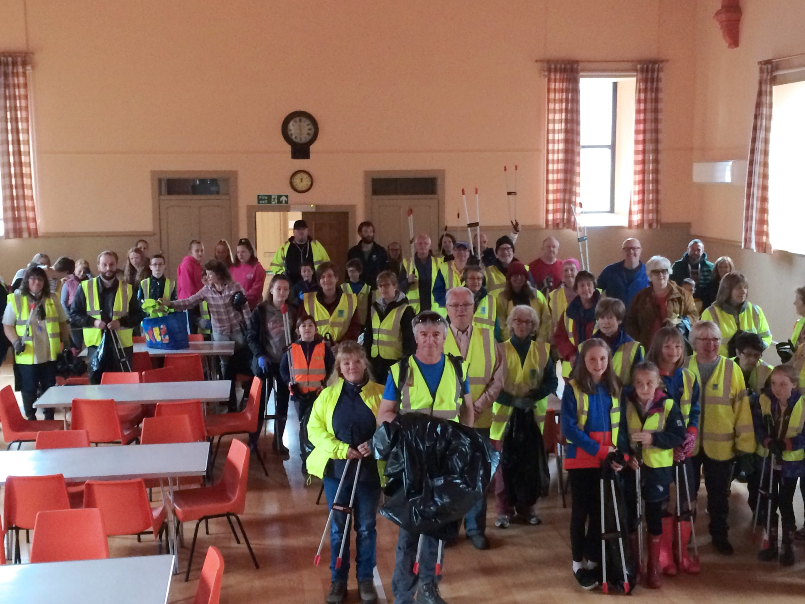 Litter Picking Volunteers