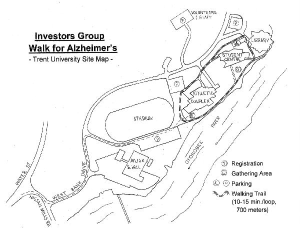 IG Wealth Management Walk for Alzheimer's Peterborough