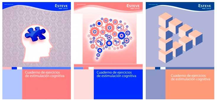 Cuadernos de Ejercicios Estimulación Cognitiva de Esteve