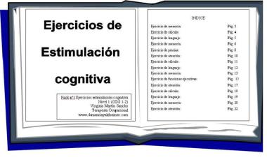 Juegos y Ejercicios para Personas con Alzheimer, Demencia Vascular, Lewy, Mixta, etc.