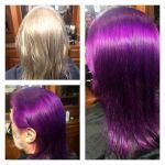 ¿Te tintarías el cabello de color morado por tu mujer?