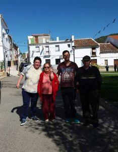 Manoli, Anita, Imanol y Manuel