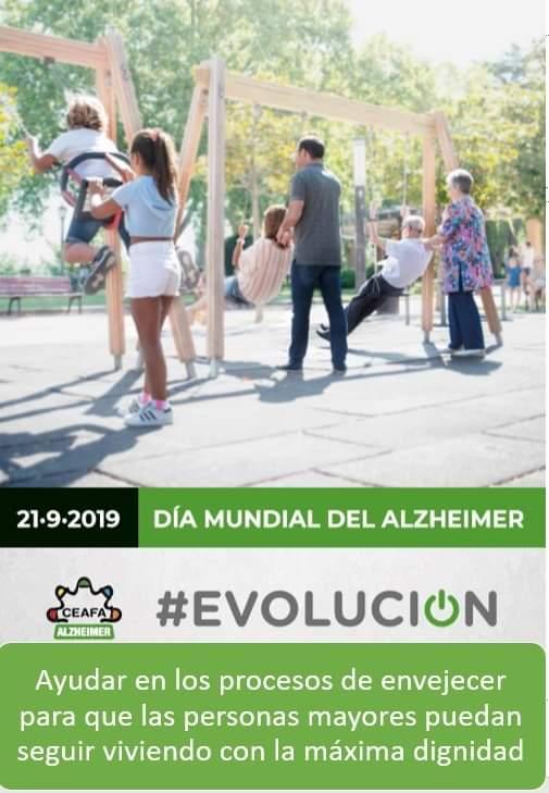 Día Mundial del Alzheimer. #Evolución