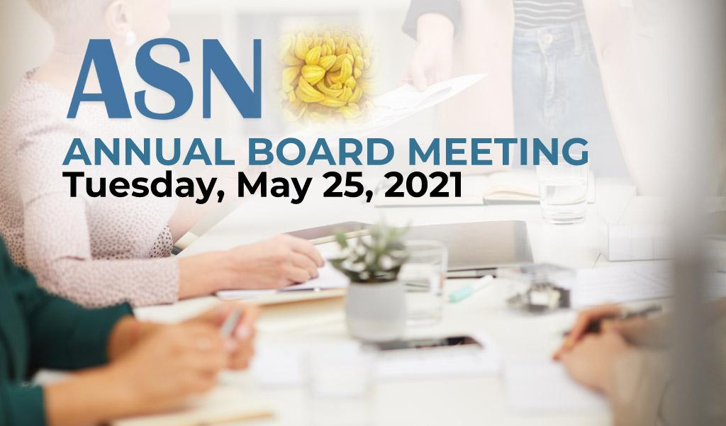 ANNUAL MEETING 2021