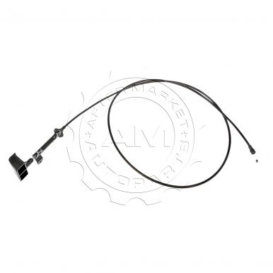 Service manual [1998 Jeep Cherokee Install Hood Cable