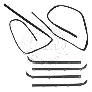 Ford F350 Truck Window Sweep & Run Channel Weatherstrip