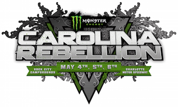 Monster Energy Carolina Rebellion: May 4, 5 & 6 | Rock City Campgrounds | Charlotte Motor Speedway