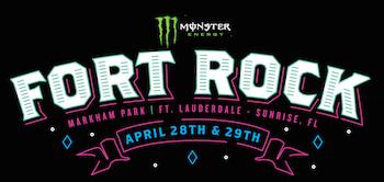 Monster Energy Fort Rock: Markham Park   Ft. Lauderdale — Sunrise, FL   April 28th & 29th