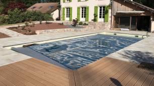 Aménagement paysager autour d'une piscine, Epinal