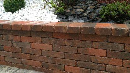 Muret classique en briques, Epinal