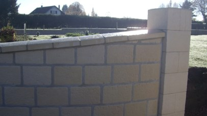 Muret de clôture, Epinal