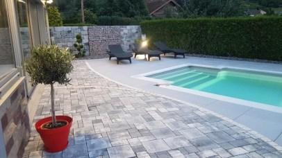 Terrasse et entourage de piscine