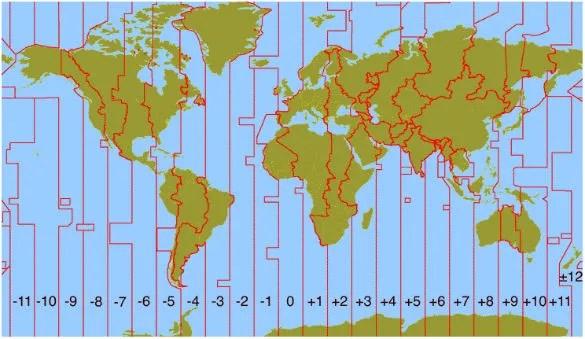 wereldklok-tijdzones-kaart