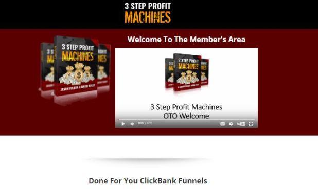 3-Step-Profit-Machines