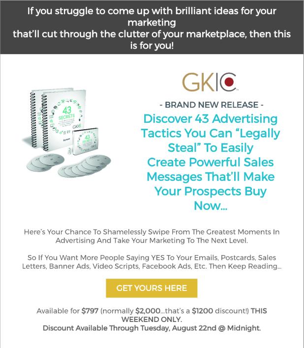 43 Secrets To Advertising