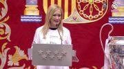 cristina cifuentes camiseta real madrid