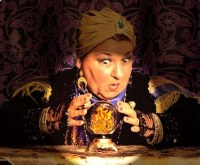 fortune teller, symbol of tricks of the forecasting trade