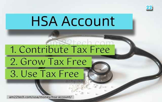 HSA Account - Tax-Free Money, Invest in Stocks, Use for Medical